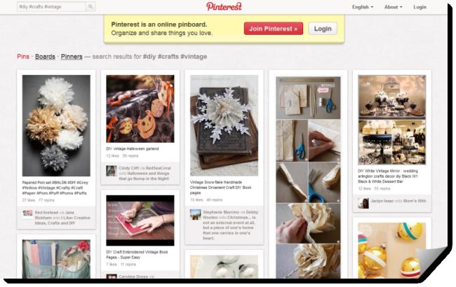 Pinterest Main Website