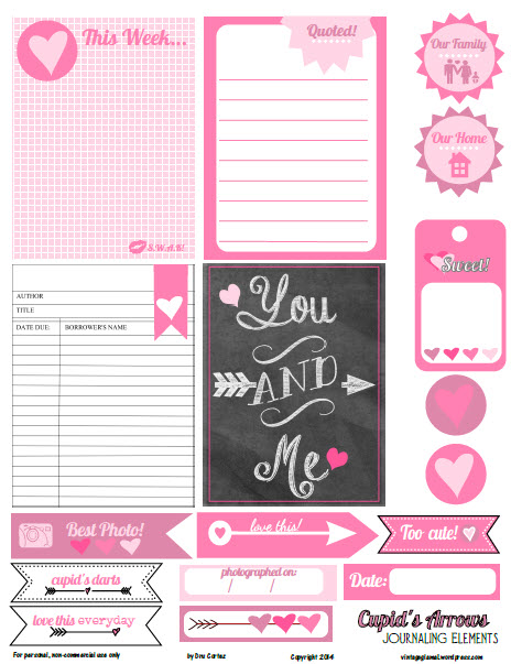 Cupids-arrows-journaling-elements-preview